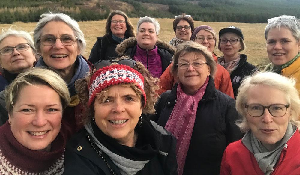Kontakta oss på Nordiske Skogskvinner